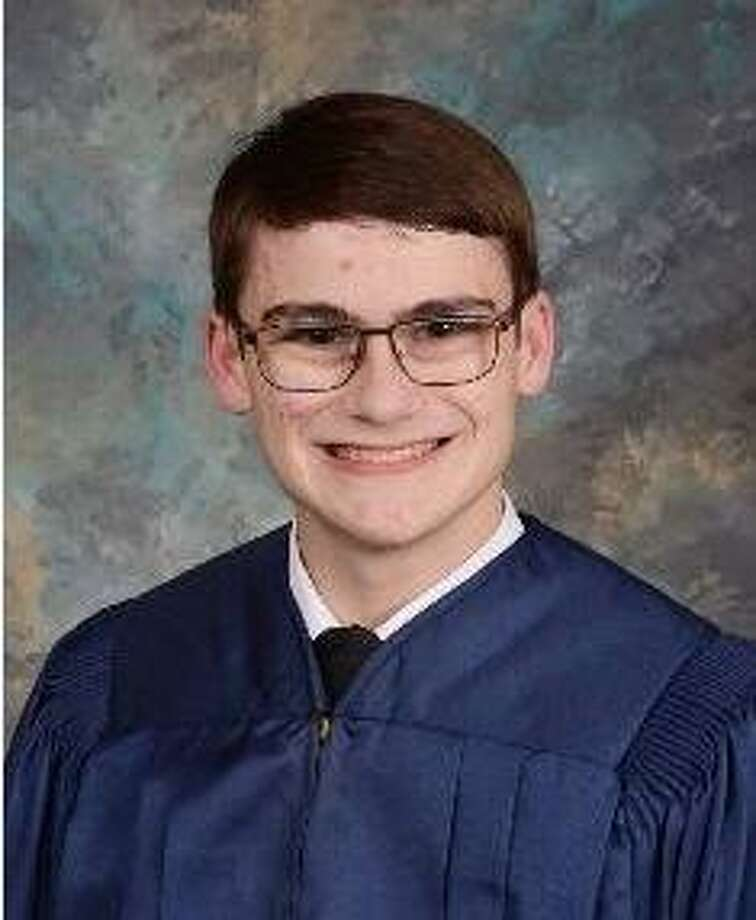 Henry Botond is valedictorian of the second graduating class of Aristoi Classical Academy. Photo: Aristoi Classical Academy / Aristoi Classical Academy