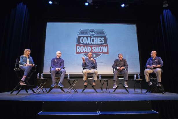 Day 2 of the UConn Coaches Road Show in Branford, Waterbury and Torrington on May 22, 2019