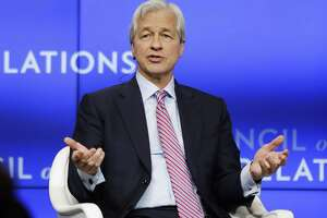 Jamie Dimon, chairman and CEO, JPMorgan Chase, speaks at the Council on Foreign Relations Thursday, April 4, 2019, in New York. JPMorgan has reportedly cut ties with Purdue Pharma.