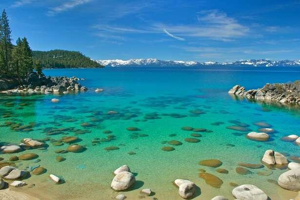 Lake Tahoe East Shore, stock photo