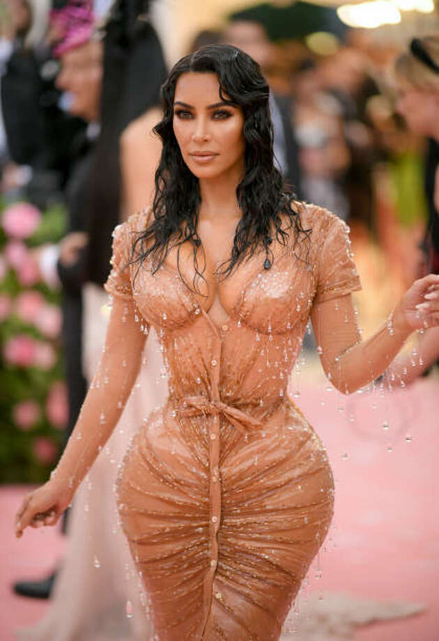 """Kim Kardashian West attends The 2019 Met Gala Celebrating Camp: Notes on Fashion at Metropolitan Museum of Art on May 06, 2019 in New York City. Kardashian West's new """"kimono"""" shapewear line is drawing criticism."""