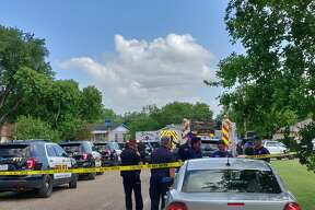 A woman was killed during a fight with her sister-in-law Thursday May 23, 2019 in the 1000 block of Grand River Drive, police said.