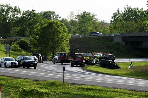 State Police investigating deadly crash at Albany interstate