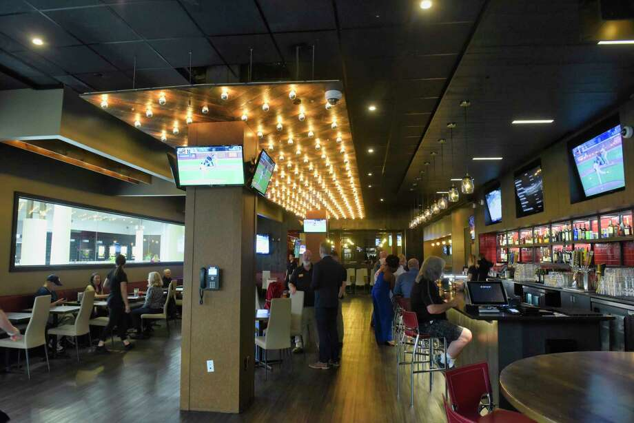 A view of the inside of the Skyloft at Crossgates Mall on Thursday, May 23, 2019, in Guilderland, N.Y. Skyloft is a 16,000 square foot restaurant, bar and live music club.    (Paul Buckowski/Times Union) Photo: Paul Buckowski / (Paul Buckowski/Times Union)