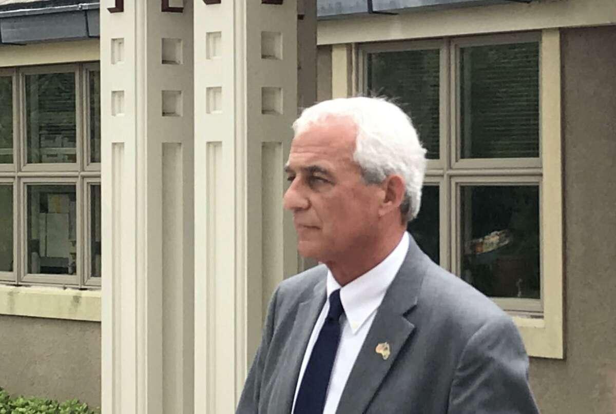 Madison former First Selectman Tom Banisch