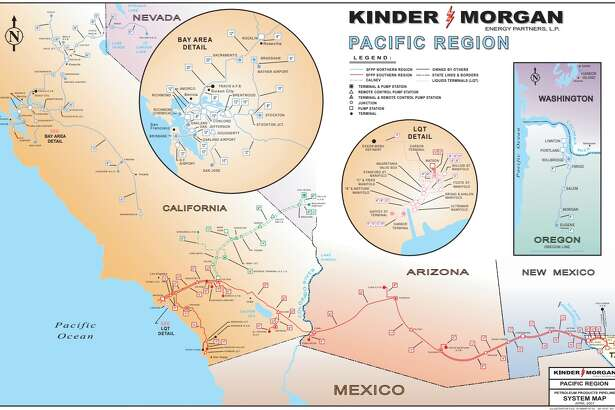 Houston pipeline operator Kinder Morgan plans to boost capacity along a pipeline between El Paso and Tucson that will allow customers to increase exports of gasoline and diesel to Mexico.