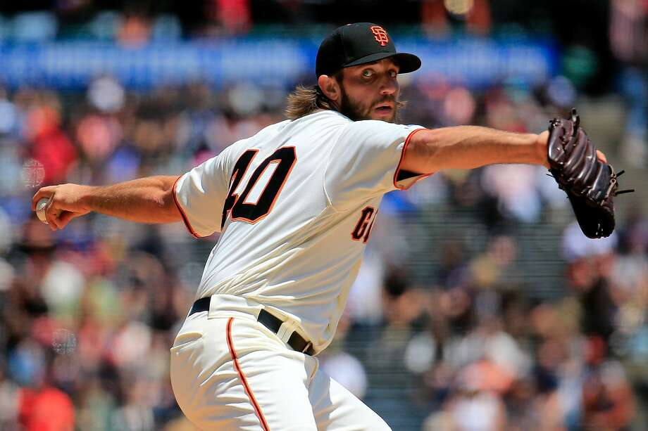 "The Giants' President of Baseball Operations Farhan Zaidi said on KNBR's ""Tolbert, Krueger & Brooks"" podcast Thursday night there are a ""lot of reasons"" it would make sense for Bumgarner to return.  Photo: Daniel Shirey / Getty Images"