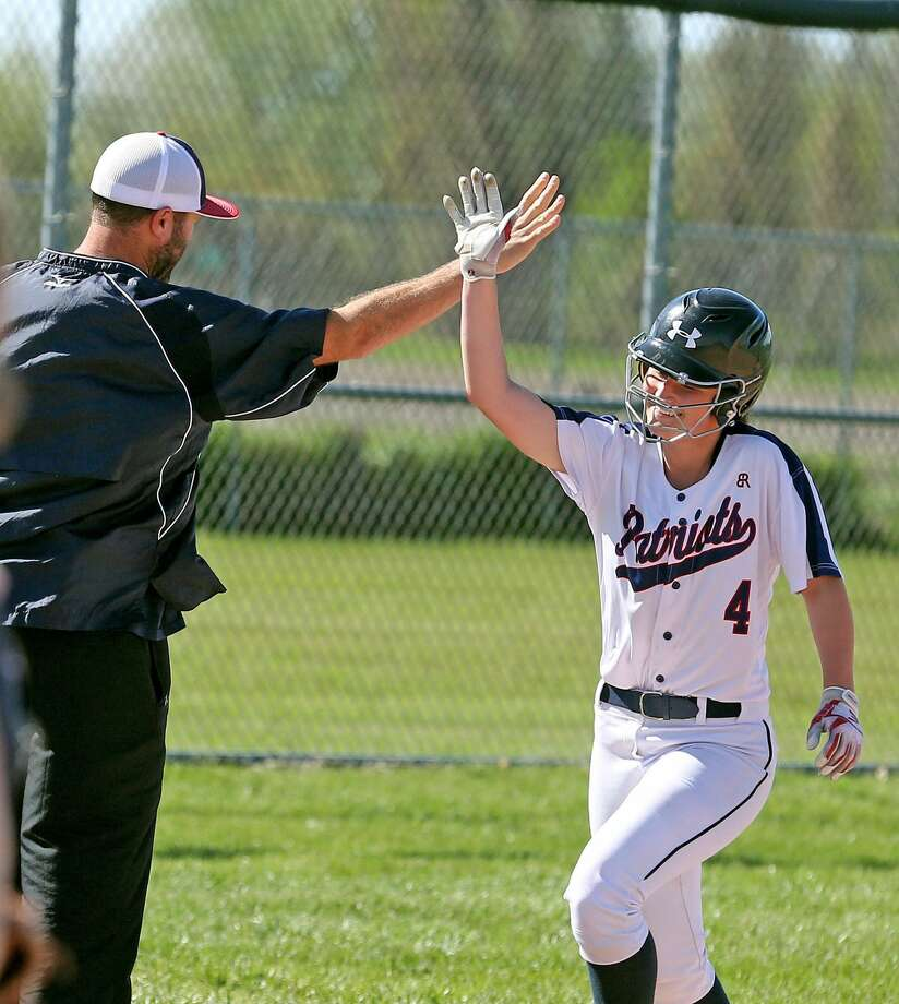 Bad Axe at USA — Softball Photo: Paul P. Adams/Huron Daily Tribune