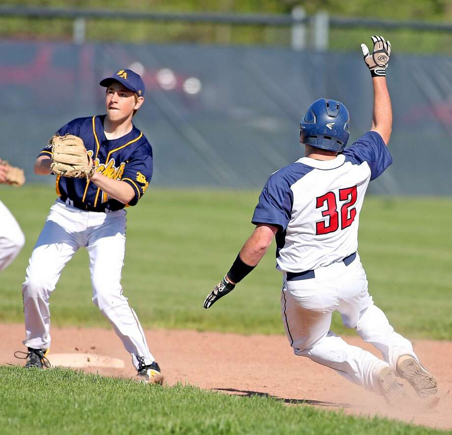 Bad Axe at USA — Baseball Photo: Paul P. Adams/Huron Daily Tribune