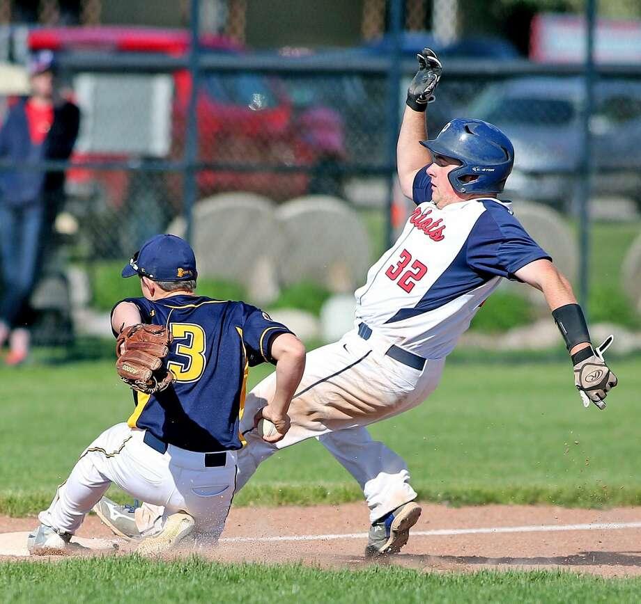 Bad Axe at USA — Baseball Photo: Paul P. Adams/Huron Daily Tribune