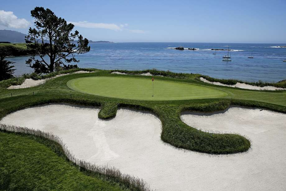Hole 4 at Pebble Beach Golf Links on Wednesday, May 22, 2019, in Pebble Beach, Calif. The course is the site of the 2019 U.S. Open Championship. Photo: Santiago Mejia, The Chronicle