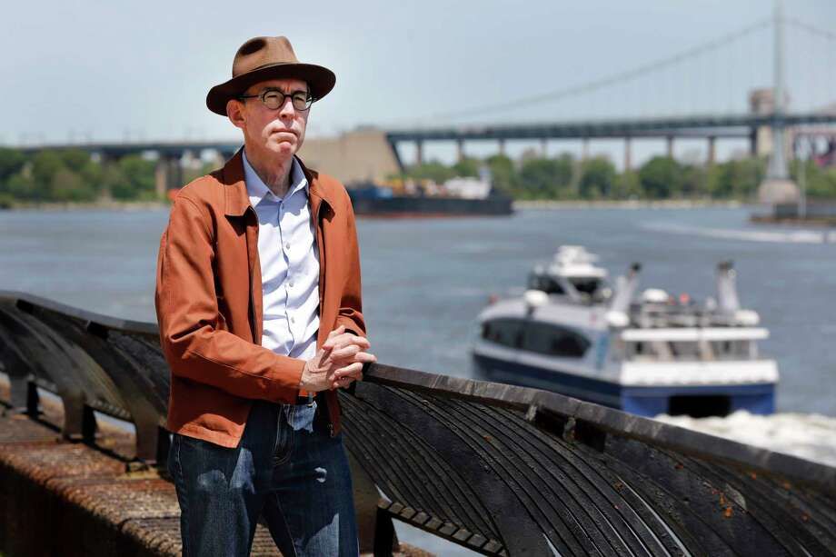 Kevin Kusinitz, a 63-year-old New Yorker who spent years being rejected from jobs for which he felt overqualified following an August 2012 layoff, poses for a photo on New York's East River, Wednesday, May 22, 2019. About half of Americans think there's age discrimination in the workplace, according to a new poll by The Associated Press-NORC Center for Public Affairs Research. (AP Photo/Richard Drew) Photo: Richard Drew / Copyright 2019 The Associated Press. All rights reserved.