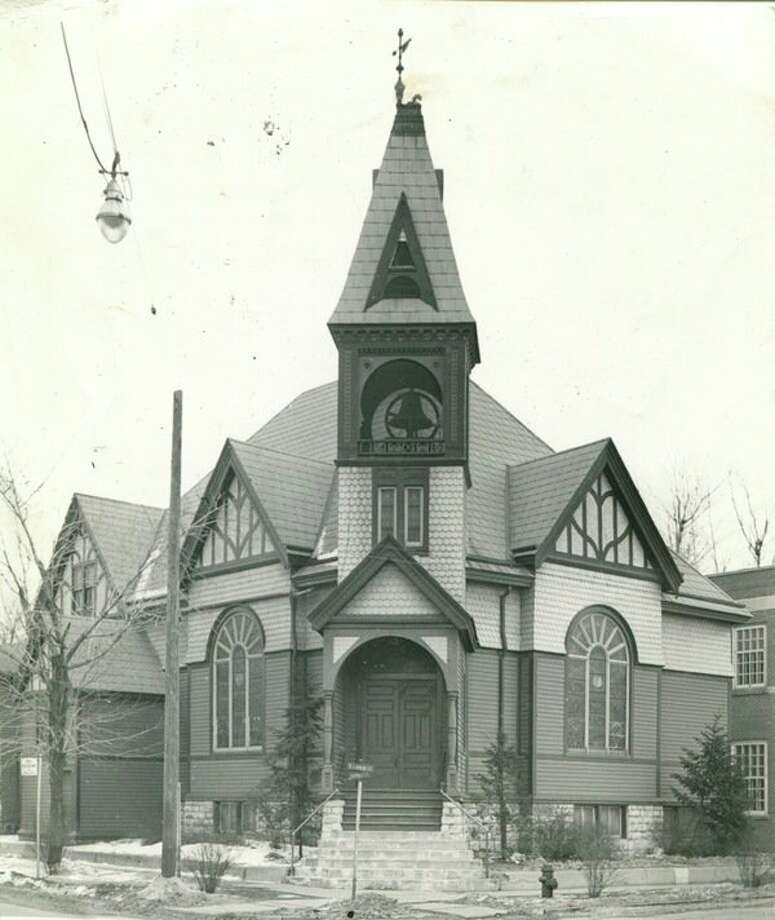 First Baptist Church of Midland used to be located in downtown Midland on the corner of Larkin and McDonald streets. (MDN file photo)