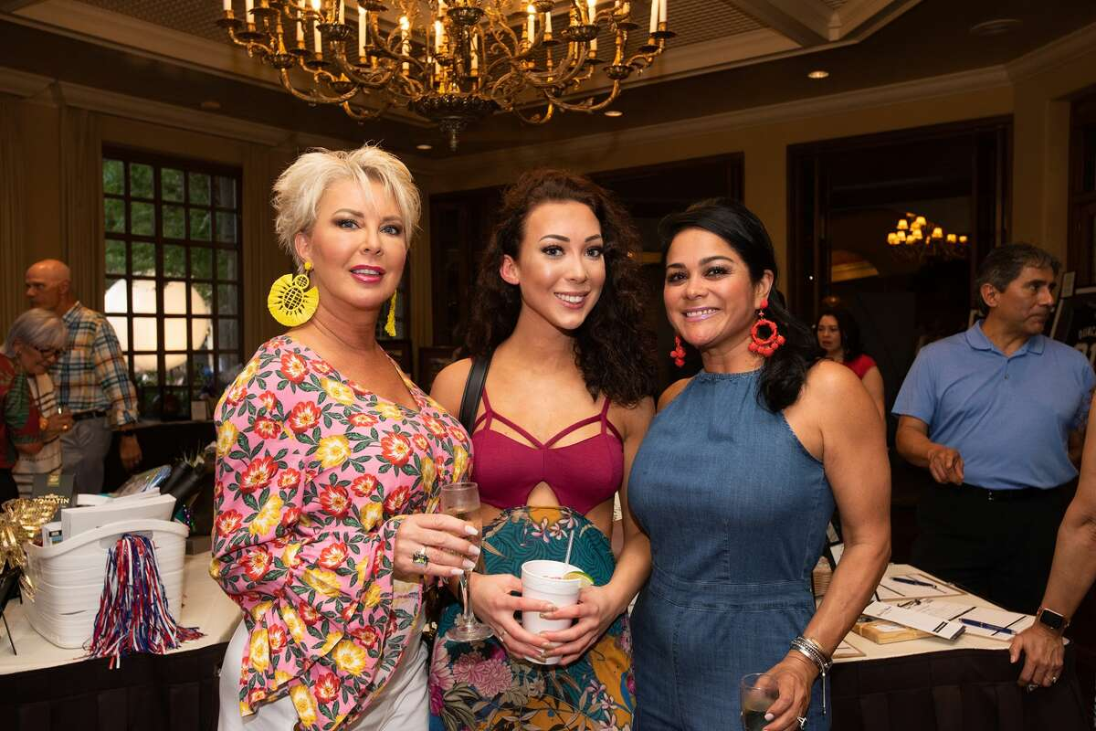 People attended the annual Taste of the Dominion Thursday night at the Dominion Country Club.