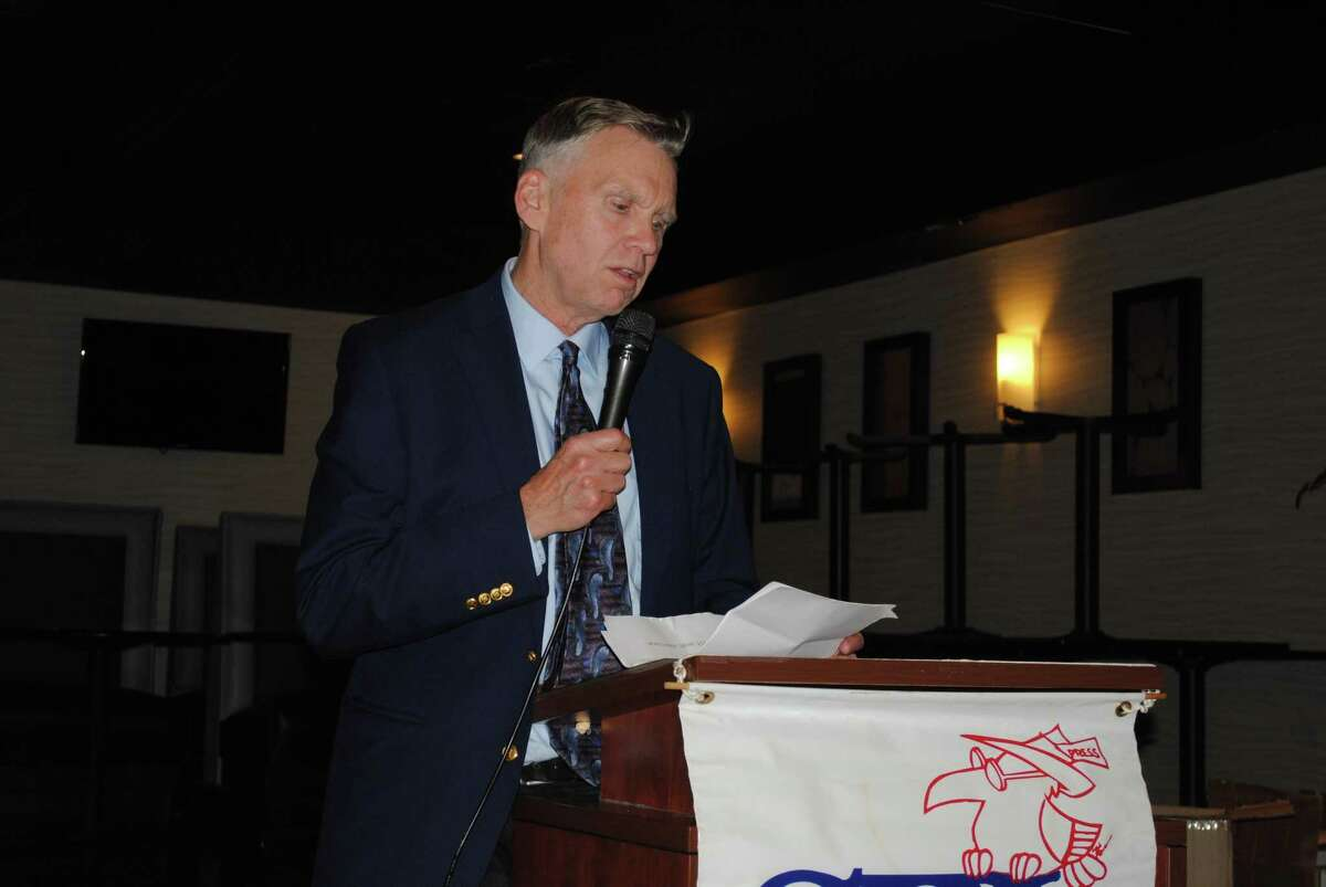 The Connecticut Society of Professional Journalists held its annual Excellence in Journalism Awards dinner on Thursday, May 23, 2019, at The Hawthorne in Berlin. Hearst's Ken Dixon was inducted into the Connecticut Journalism Hall of Fame.