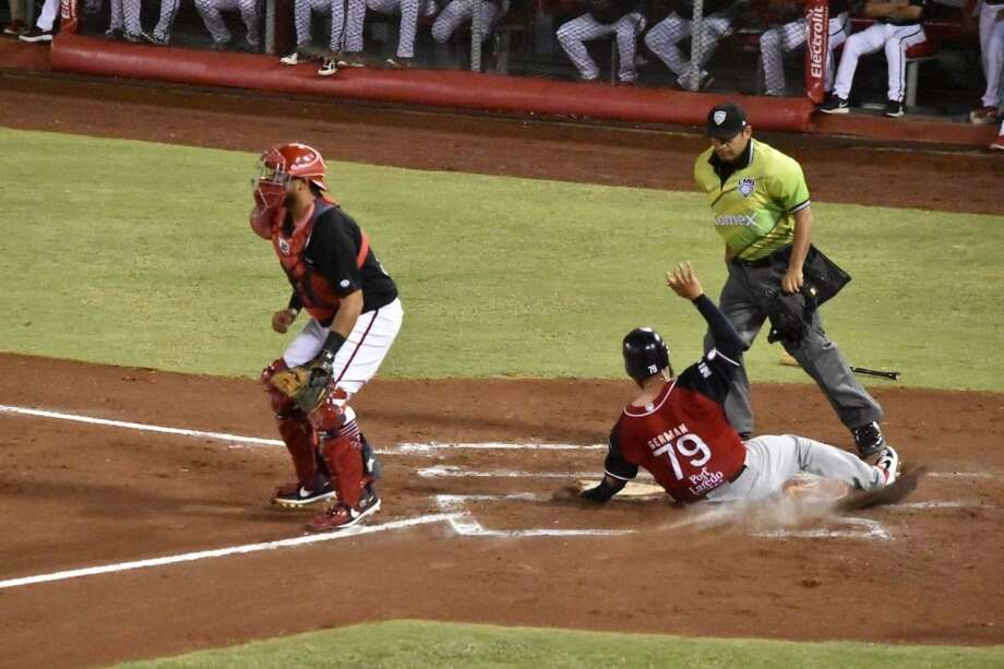 Tecolotes Dos Laredos left fielder Misael German Photo: Courtesy Of The Tecolotes Dos Laredos