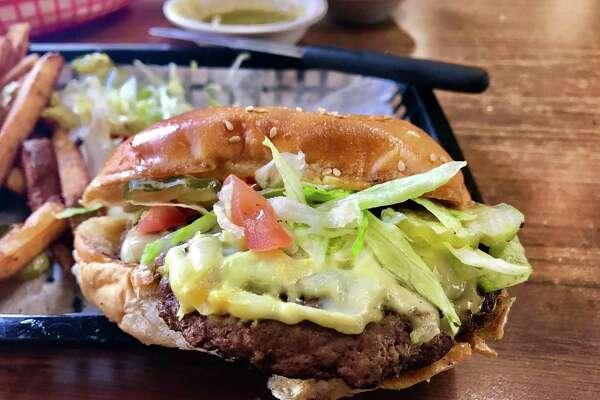 Cheeseburger at Taqueria Guadalajara