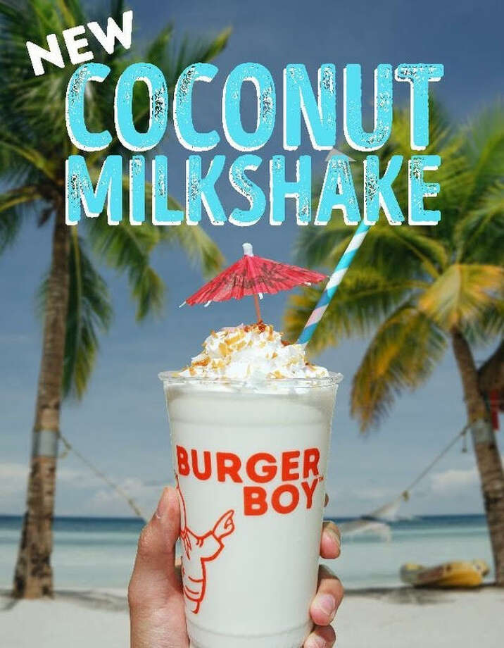 Burger Boy announced their latest milkshake flavor on Friday. Photo: Burger Boy