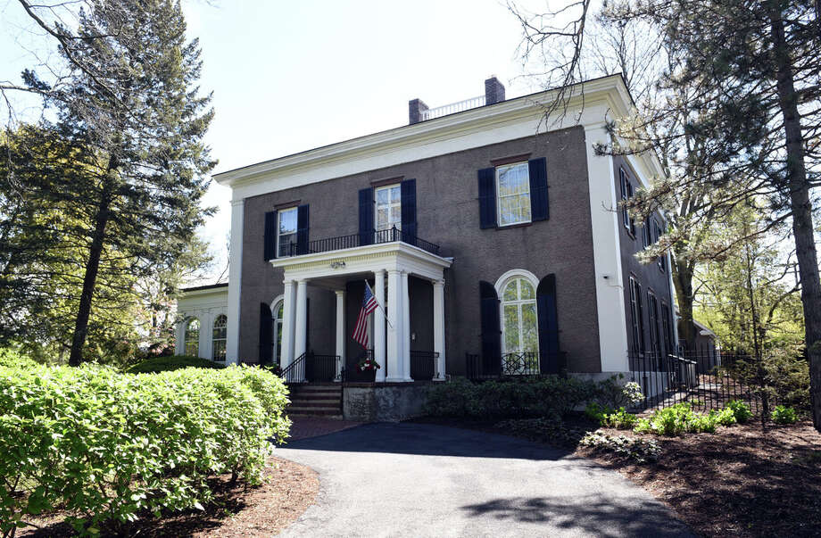 The Union College President's home in Schenectady, NY. (Phoebe Sheehan/Times Union) Photo: Phoebe Sheehan, Albany Times Union / 20046946A