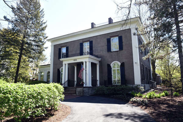 The Union College President's home on Wednesday, May 15, 2019 in Schenectady, NY. (Phoebe Sheehan/Times Union)