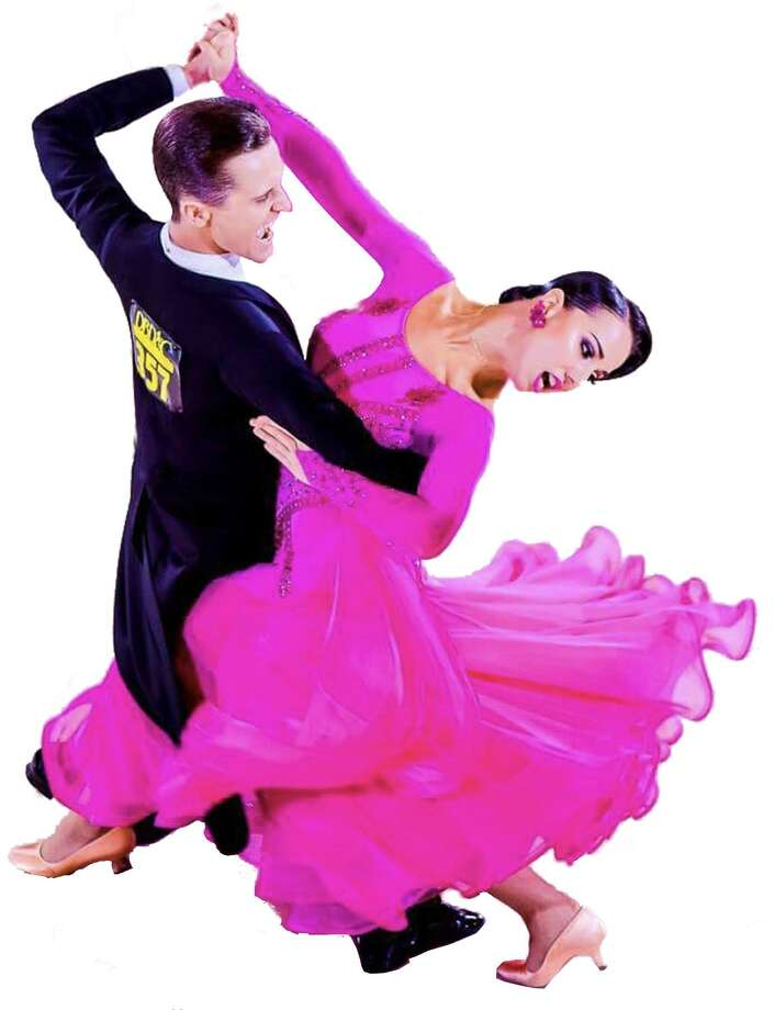 Ballroom dance stars Sasha Kalenyuk and Olena Ablitsova, from Ukraine, will present their show May 25 at the Holy Trinity Greek Church Community Center ballroom in Bridgeport, sponsored by the Premier Ballroom Dance company. Photo: Premier Ballroom Dance Company / Contributed Photo