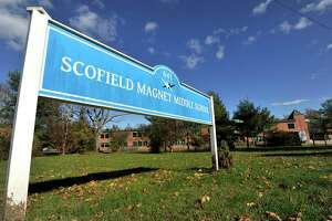 Scofield Magnet Middle School was put on temporary lockdown this morning, Friday, Oct. 30, 2015.