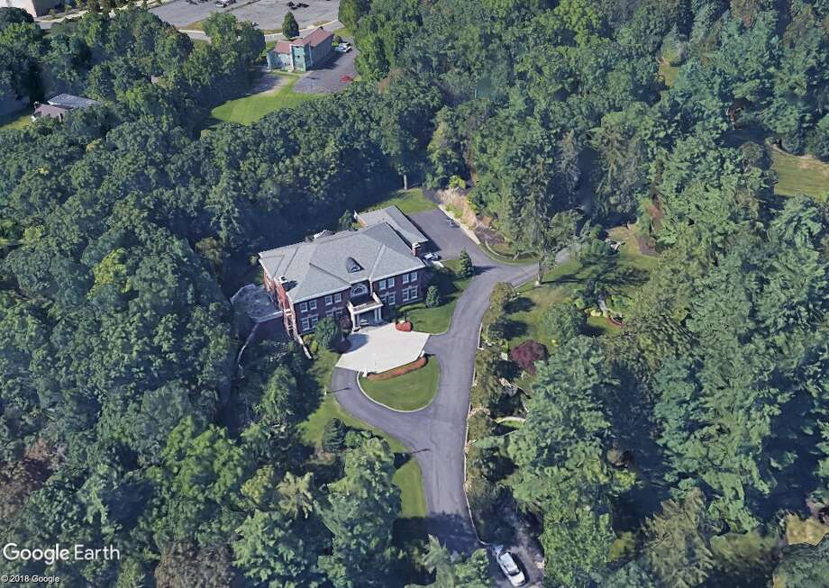 An aerial view of Rensselaer Polytechnic Institute's president's house. The 19,494-square foot mansion is located at 2005 Tibbits Avenue in Troy. The house, which was built of RPI President Shirley Ann Jackson, is the largest house for a college president in the Capital Region. (Google Earth image)
