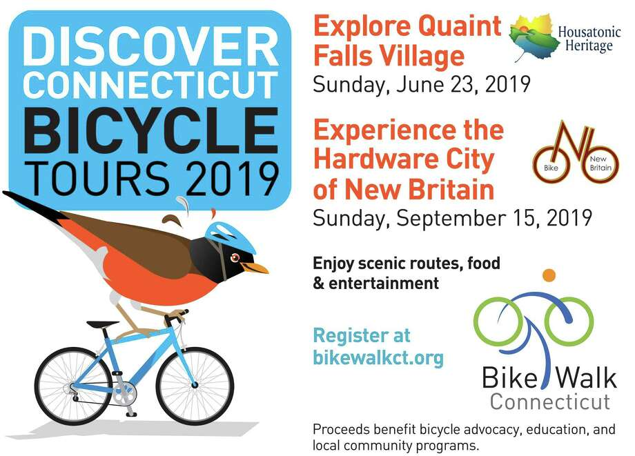 Bike Walk Connecticut is offering tours with activities in Falls Village on June 23 and Sept. 15 in New Britain. Photo: Contributed Photo
