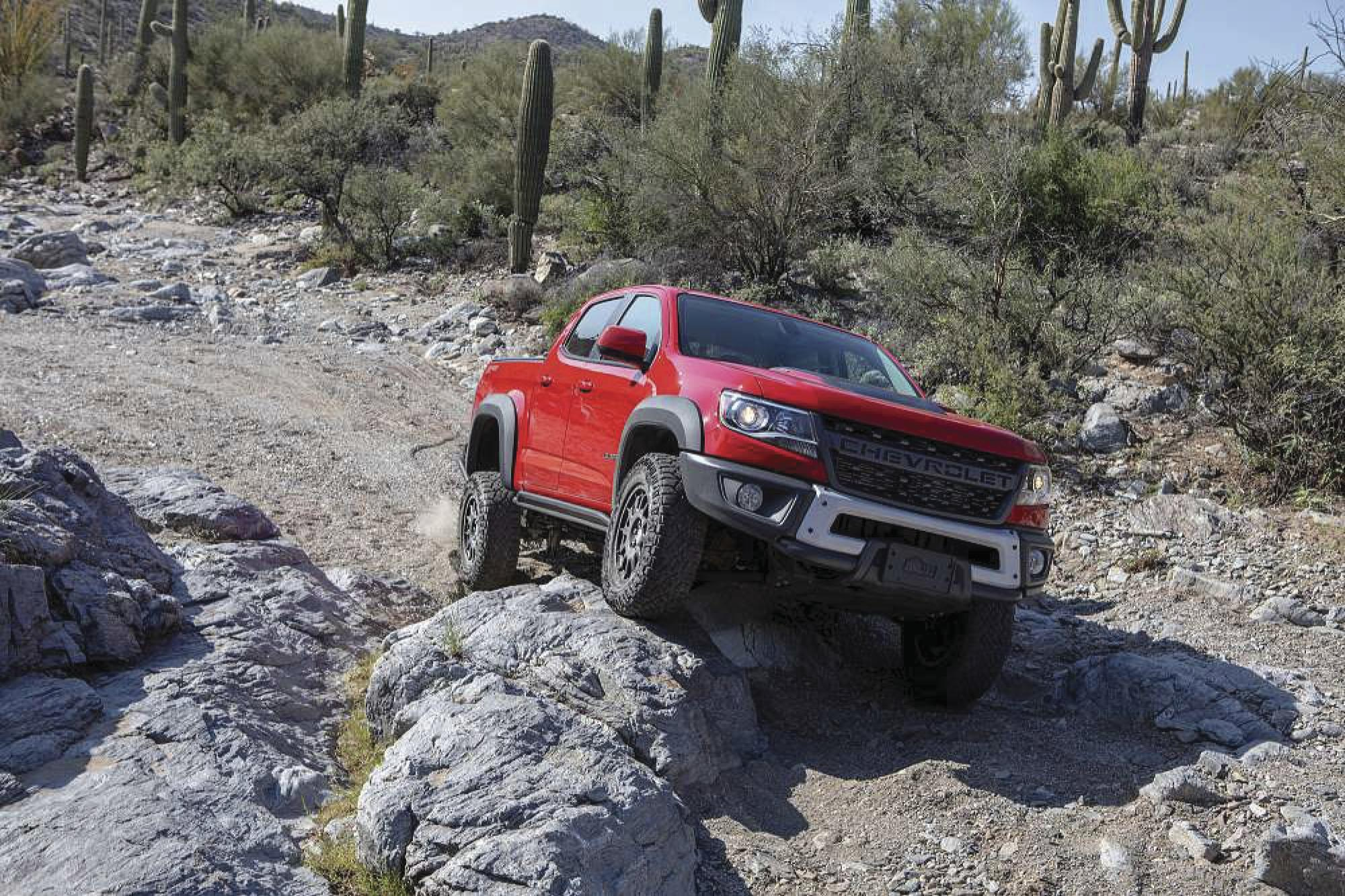 Chevy Colorado ZR2 Bison: Special 2019 edition is for hard-charging enthusiasts