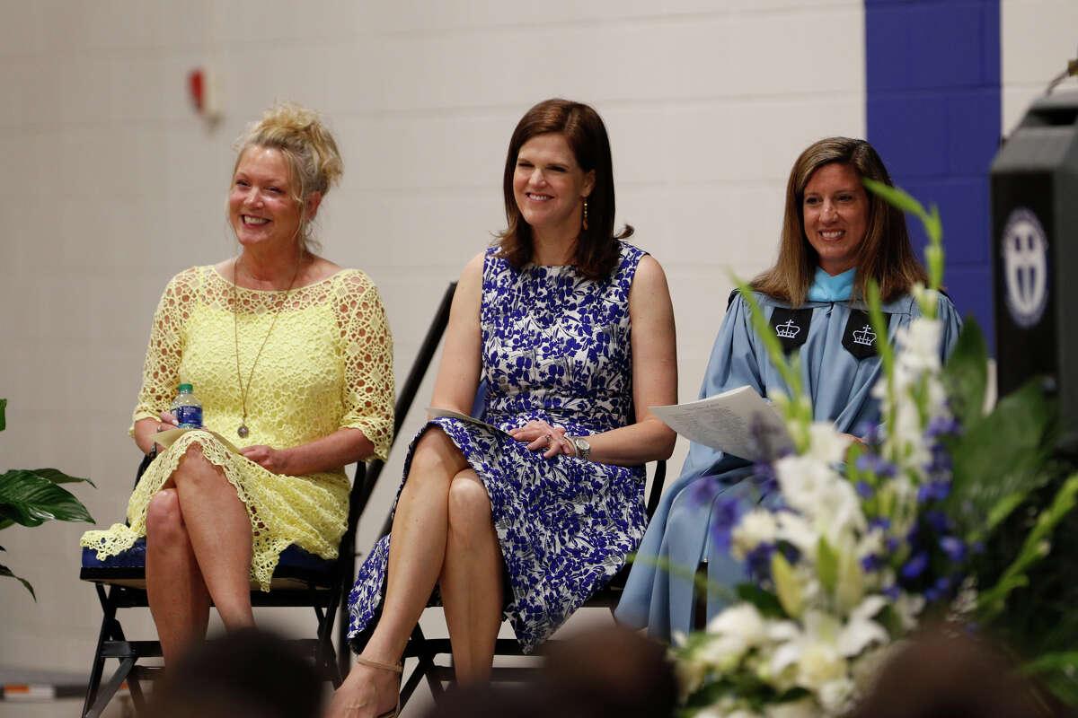 Trinity School commencement ceremony May 24, 2019 at Trinity. James Durbin/Reporter-Telegram