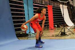 The Mystics' Kristi Toliver is heading into her 11th season as a WNBA player.