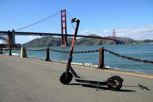 Spin electric scooters, owned by the Ford Motor Co., is based in San Francisco. Its scooters can be found in 22 cities and on five college campuses.