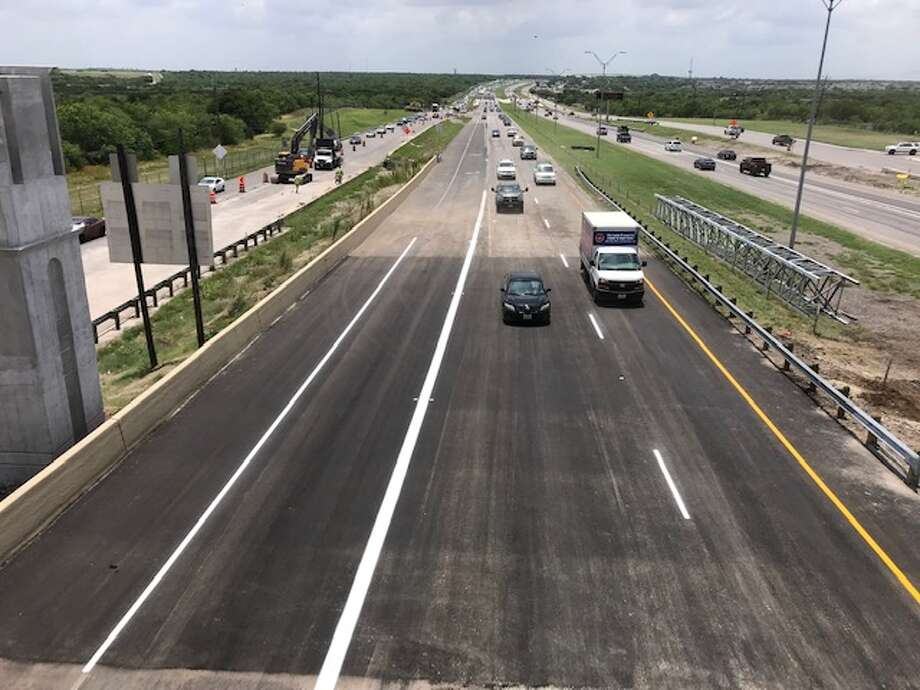 Highway 90 is set to reopen on Friday, May 24, 2019, after a sinkhole and repair warranted its closure. Photo: Contributed Photo/San Antonio Water System