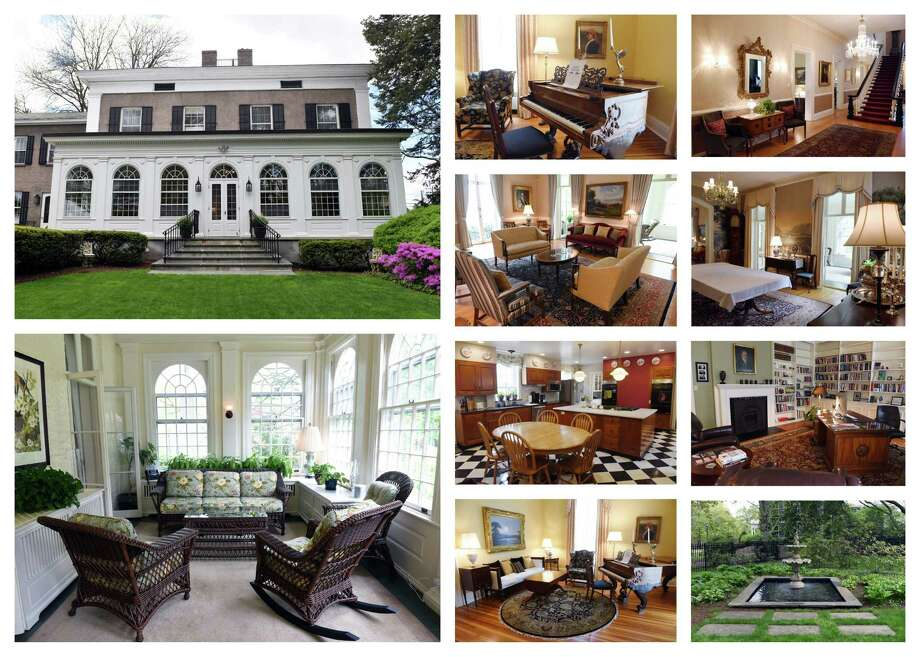 Views of the home of the president of Union College in Schenectady.(Phoebe Sheehan/Times Union)