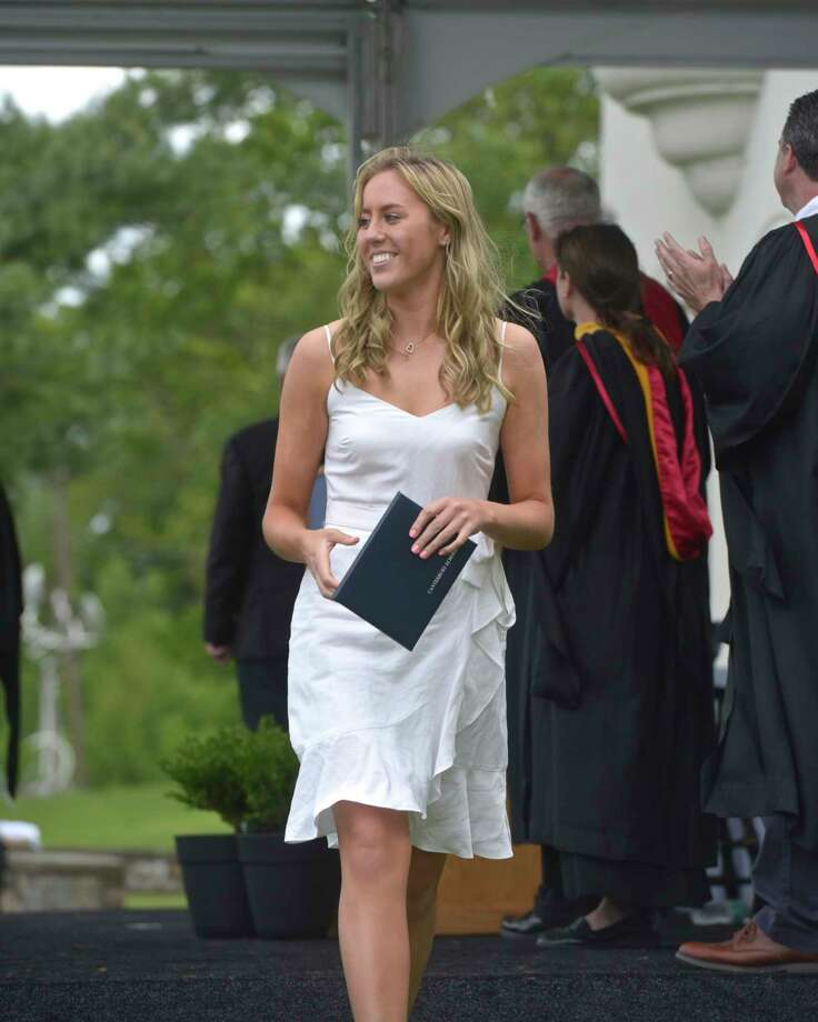 The One Hundred Second Commencement Exercises for Canterbury School, Friday morning, May 24, 2019, in New Milford, Conn. Photo: H John Voorhees III, Hearst Connecticut Media / The News-Times