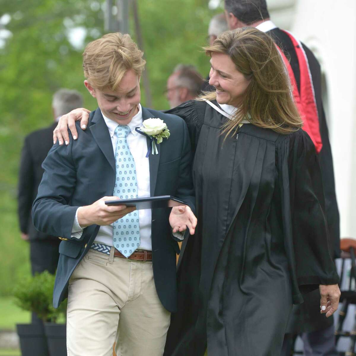 The One Hundred Second Commencement Exercises for Canterbury School, Friday morning, May 24, 2019, in New Milford, Conn.