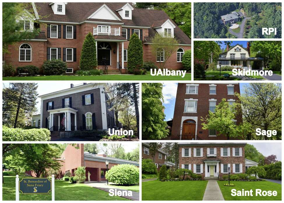 Click through the slideshow to see homes of college presidents in the Capital Region, including RPI, UAlbany, Siena, Sage, Skidmore and the College of Saint Rose. (Times Union photo staff)