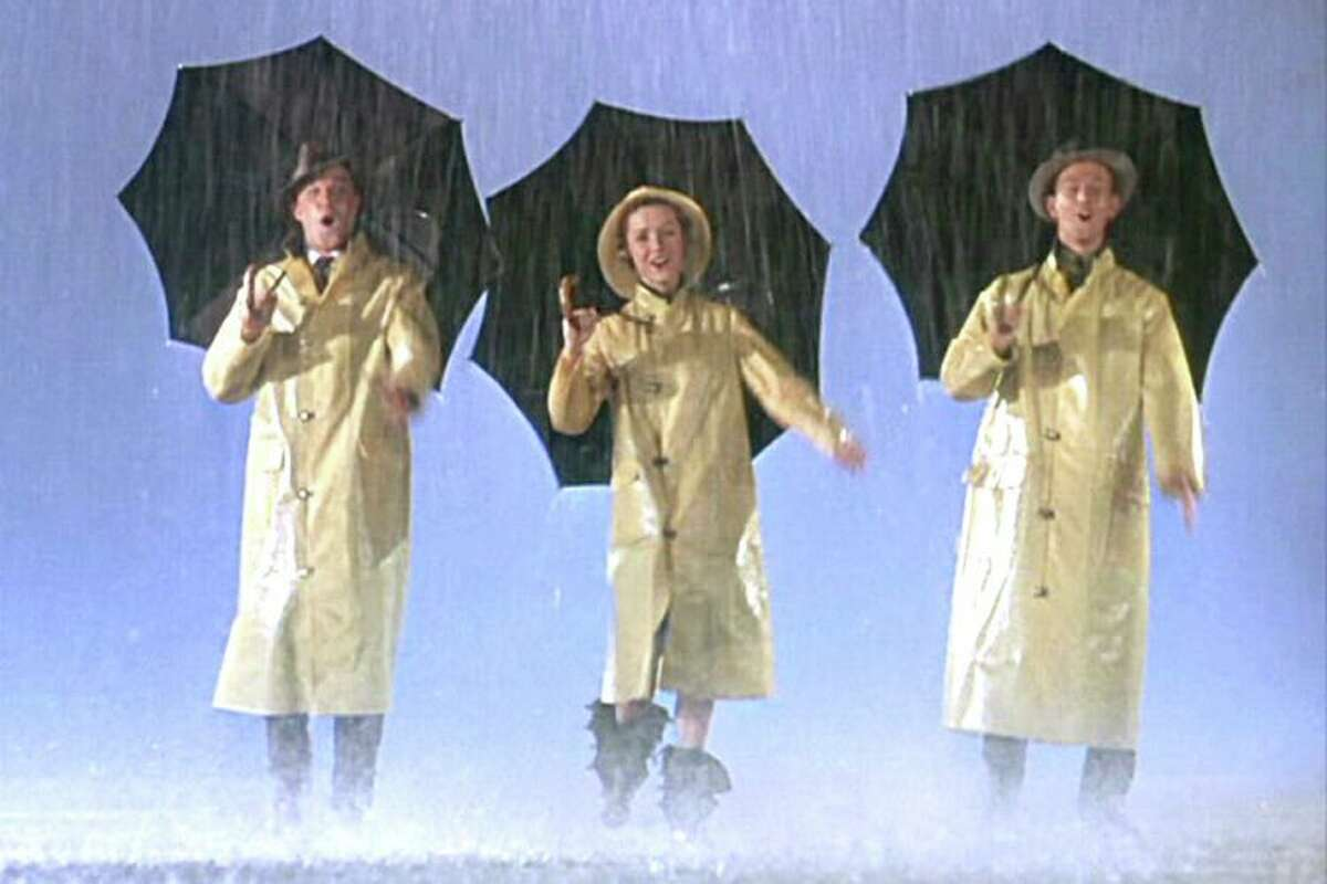 Gene Kelly, Debbie Reynolds and Donald O'Connor in Singing in the Rain.