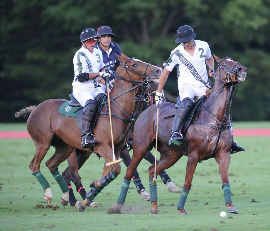Greenwich Polo Club will kick off its 38th season of high-goal polo with opening day on June 9. Above is a match from 2016. Photo: Hearst Connecticut Media File Photo / Greenwich Time