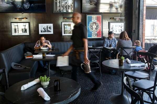 Interior of The Brixton restaurant on Thursday, May 23, 2019. San Francisco, Calif.