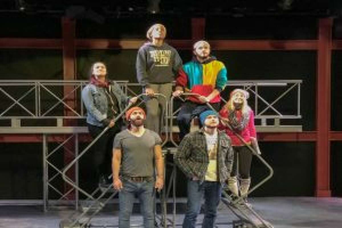 The cast of Working rehearses. - Betsy Brand photo