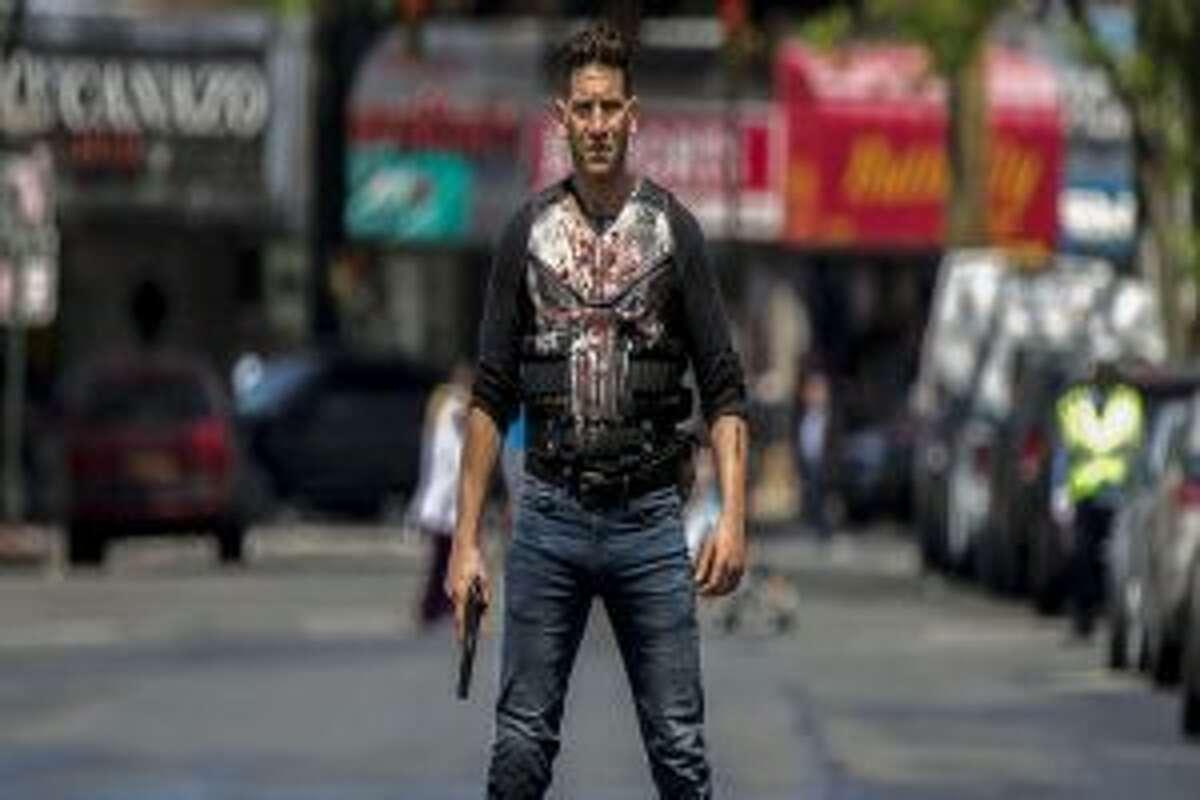 Jon Bernthal stars in The Punisher. -Netflix contributed photo