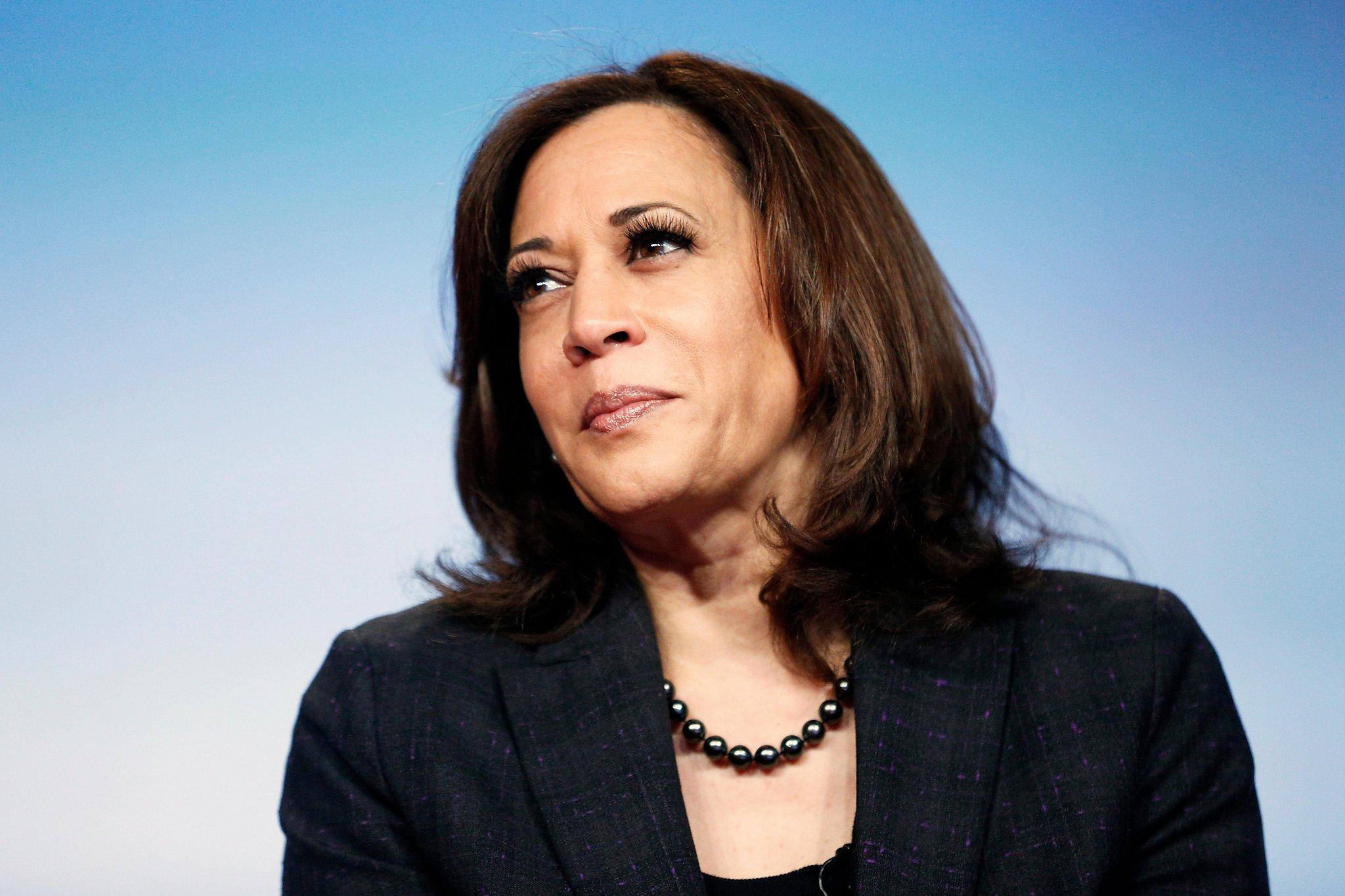 Senator Kamala Harris Has Announced that She Will be ...   Kamala Harris