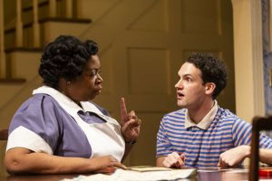 Benja Kay Thomas and Jacob Perkins star in Miller, Mississippi running at the Long Wharf Theatre in New Haven. — T. Charles Erickson photo