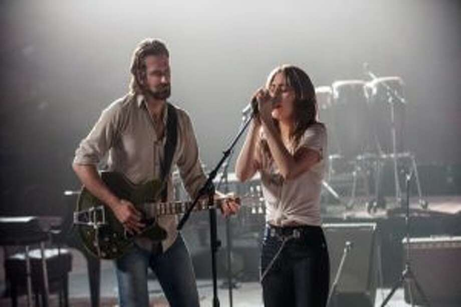 Bradley Cooper and Lady Gaga star in A Star Is Born.