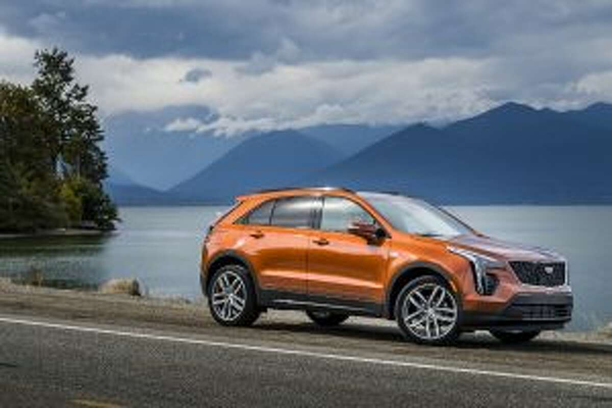 The 2019 Cadillac XT4 handles smoothly. - Courtesy of the North American Cadillac Pressroom