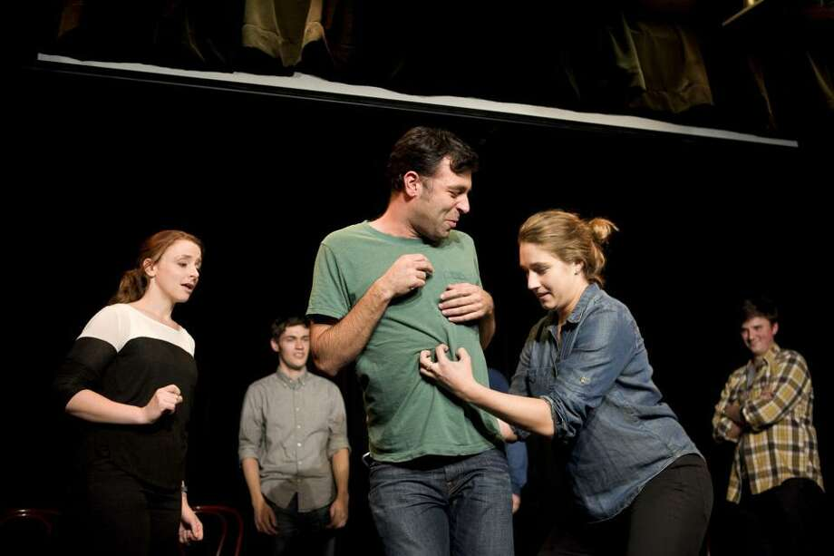 The Upright Citizens Brigade Touring Company will perform at Long Wharf Theatre, June 7 and 8. Photo: Contributed Photo