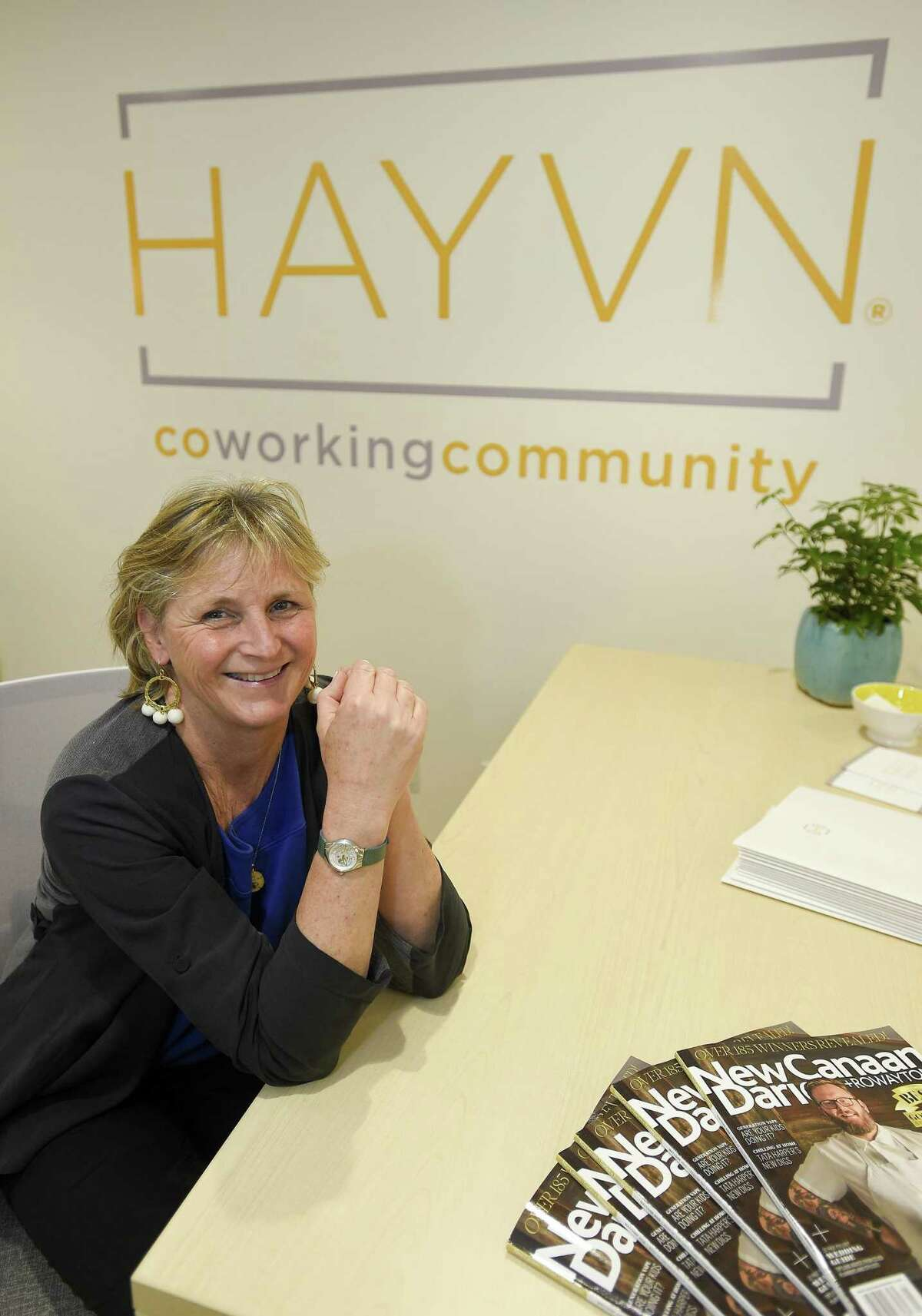 Felicia Rubinstein is the founder of the new women-focused co-working center, Hayvn, which is based at 320 Post Road in Darien, Conn.