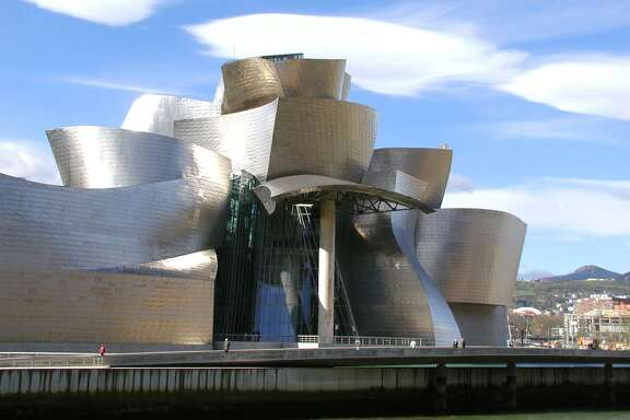 Guggenheim Bilbao in northern Spain is a glimmering, shimmering modern art museum. A reader is not pleased with a syndicated column about a recent show held at the Bilbao.