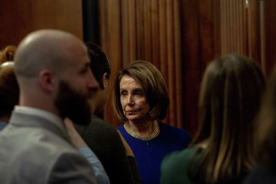 House Speaker Nancy Pelosi is clearly the adult in the room in any dealing with Trump — her reaction to the president's recent temper tantrum a case in point. Photo: HILARY SWIFT /NYT / NYTNS
